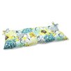 <strong>Pillow Perfect</strong> Floral Fantasy Loveseat Cushion