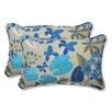 <strong>Pillow Perfect</strong> Fancy a Floral Throw Pillow (Set of 2)