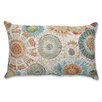 <strong>Pillow Perfect</strong> Maggie Mae Aqua Rectangular Throw Pillow