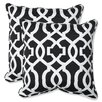 Pillow Perfect New Geo Throw Pillow (Set of 2)