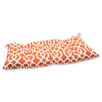 Pillow Perfect New Geo Wrought Iron Loveseat Cushion