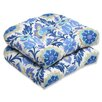 <strong>Pillow Perfect</strong> Santa Maria Wicker Seat Cushion (Set of 2)
