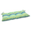 Pillow Perfect Zulu Wrought Iron Loveseat Cushion