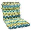 Pillow Perfect Zig Zag Chair Cushion