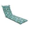 Pillow Perfect Pretty Chaise Lounge Cushion