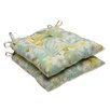 <strong>Pillow Perfect</strong> Sugar Beach Wrought Iron Seat Cushion (Set of 2)