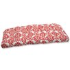 Pillow Perfect Luminary Wicker Loveseat Cushion