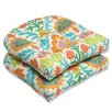 Pillow Perfect Santa Maria Wicker Seat Cushion (Set of 2)