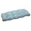Pillow Perfect Shivali Wicker Loveseat Cushion