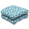 Pillow Perfect Shivali Wicker Seat Cushion (Set of 2)