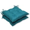 Pillow Perfect Rave Wrought Iron Seat Cushion (Set of 2)