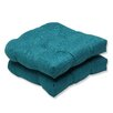 Pillow Perfect Rave Wicker Seat Cushion (Set of 2)