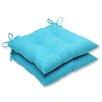 Pillow Perfect Veranda Wrought Iron Seat Cushion (Set of 2)