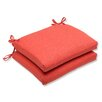 Pillow Perfect Forsyth Corners Seat Cushion (Set of 2)