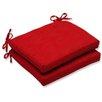 Pillow Perfect Mandeyia Corners Seat Cushion (Set of 2)