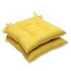 Pillow Perfect Fresco Wrought Iron Seat Cushion (Set of 2)