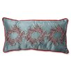 Pillow Perfect Christmas Wreaths Throw Pillow