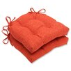 Pillow Perfect Pure Shock Reversible Chair Pad (Set of 2)