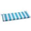 Pillow Perfect Cabana Stripe Bench Cushion