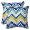 Pillow Perfect Marquesa Marine Throw Pillow (Set of 2)