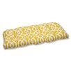Pillow Perfect New Geo Wicker Loveseat Cushion