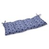 Pillow Perfect Ring a Bell Wrought Iron Loveseat Cushion