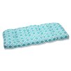 Pillow Perfect Kane Wicker Loveseat Cushion