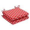 Pillow Perfect Sunny Squared Corner Seat Cushion (Set of 2)