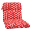 Pillow Perfect Sunny Rounded Corner Chair Cushion
