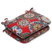 Pillow Perfect Cera Garden Rounded Corner Seat Cushion (Set of 2)