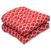 Pillow Perfect Sunny Wicker Seat Cushion (Set of 2)