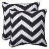 Pillow Perfect Chevron Throw Pillow (Set of 2)