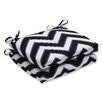 Pillow Perfect Chevron Squared Corner Seat Cushion (Set of 2)