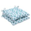 Pillow Perfect New Geo Wrought Iron Seat Cushion (Set of 2)