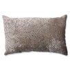 Pillow Perfect Tuscany Dots Flax Cut Rectangular Throw Pillow
