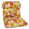 Pillow Perfect Rounded Corners Dining Chair Cushion