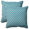 <strong>Pillow Perfect</strong> Hockley Corded Throw Pillow (Set of 2)