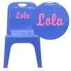 <strong>Personalized Kids Stackable School Chair</strong> by Flash Furniture