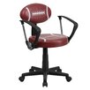 Flash Furniture Football Task Chair with Arms