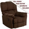 Flash Furniture Contemporary Microfiber Power Recliner