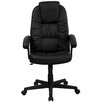Flash Furniture High-Back Leather Swivel Executive Office Chair