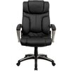<strong>Personalized High-Back Folding Leather Executive Office Chair</strong> by Flash Furniture
