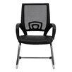 <strong>Mesh Back Guest Side Chair with Sled Base</strong> by Flash Furniture