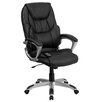 <strong>High-Back Leather Massaging Executive Office Chair with Base</strong> by Flash Furniture