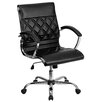 <strong>Mid-Back Leather Executive Office Chair</strong> by Flash Furniture