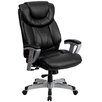 Flash Furniture Hercules Series Leather Office Chair with Arms