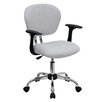 Flash Furniture Low-Back Office Chair with Arms