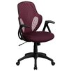 Flash Furniture Mid-Back Executive Mesh Chair with Nylon Base
