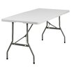 "<strong>60"" Rectangular Folding Table</strong> by Flash Furniture"