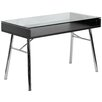 <strong>Flash Furniture</strong> Brettford Desk with Tempered Glass Top